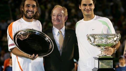 2006 Australian Open (d. Marcos Baghdatis in 4)