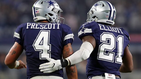 Dallas Cowboys: +1000 (10/1)