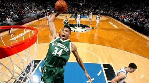 Frontcourt — Giannis Antetokounmpo, Milwaukee Bucks