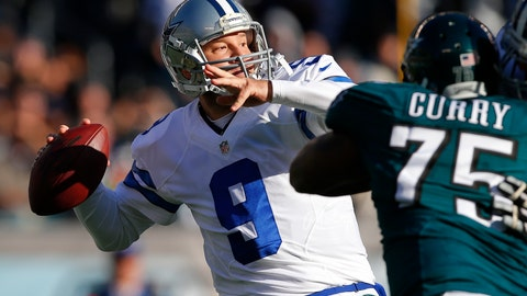 Cowboys QB Tony Romo: $64.11