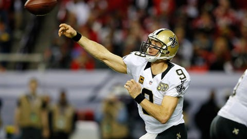Drew Brees, Saints