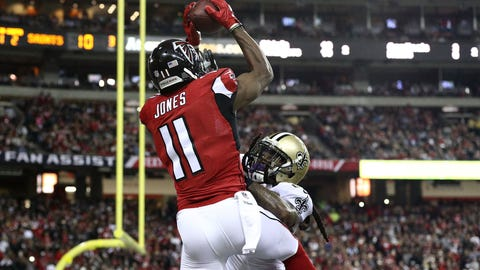 Falcons 38 - Saints 32