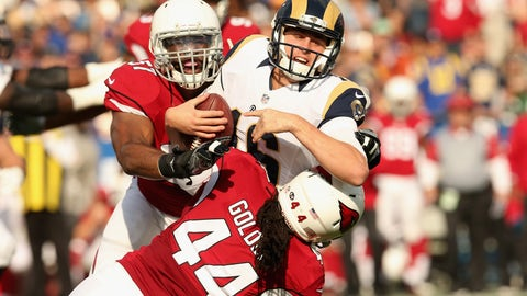 Cardinals 44 - Rams 6
