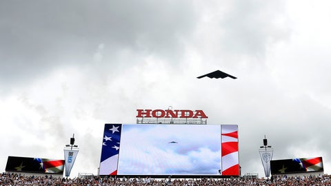 The stealth flyover