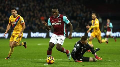 Michail Antonio is making West Ham tick