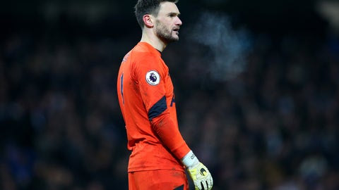 Hugo Lloris gifted City two goals
