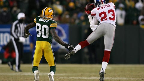 2007 NFC Championship game: Giants 23, Packers 20 (OT)