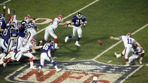 Super Bowl XXV: Giants 20, Bills 19
