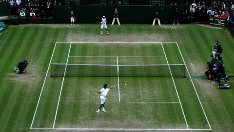 Grass courts (Wimbledon)