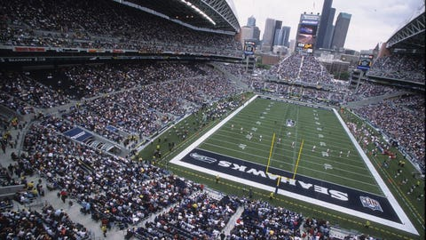 Seattle Seahawks: They're not playing at home in Round 2.