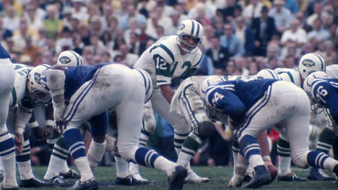 Indianapolis Colts -- Broadway Joe (Super Bowl III vs. Jets, 1968)