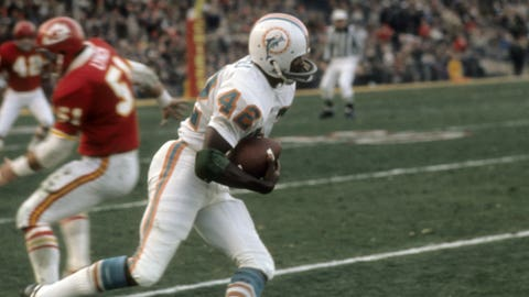 Kansas City Chiefs -- The marathon (1971 divisional playoffs vs. Dolphins)