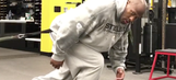 James Harrison celebrated the Steelers' win by immediately posting workout videos