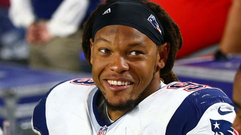 Now: Sheard with Patriots