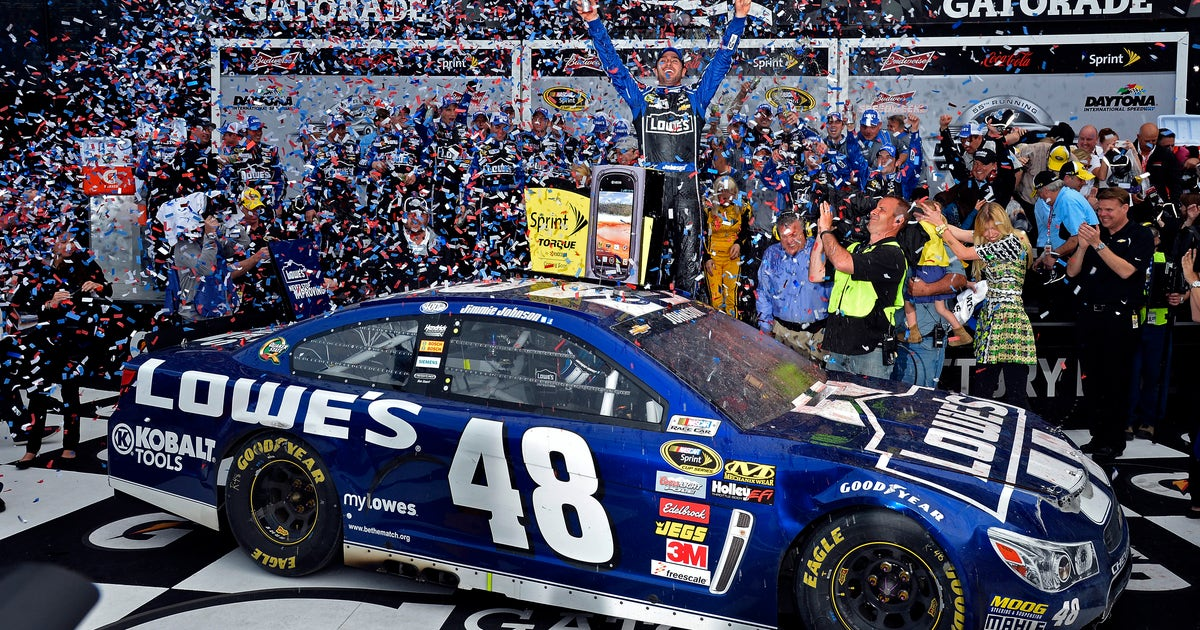Jimmie Johnson S Daytona 500 Paint Schemes Through The