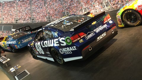 Jimmie Johnson's 2013 Chevrolet SS