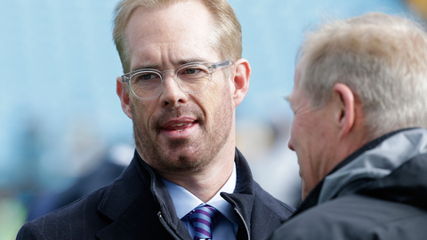 Will Joe Buck or Troy Aikman reference the game's odds (spread/total/underdog/favorite) during the broadcast?