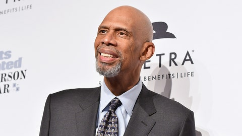 NEW YORK, NY - DECEMBER 12:  Basketball player Kareem Abdul-Jabbar attends the Sports Illustrated Sportsperson of the Year Ceremony 2016 at Barclays Center of Brooklyn on December 12, 2016 in New York City.  (Photo by Slaven Vlasic/Getty Images for Sports Illustrated)