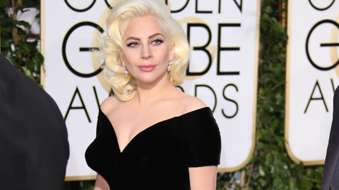 Which song will Lady Gaga sing first during the halftime show?