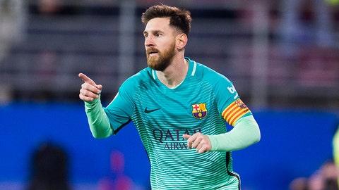 Lionel Messi — Manchester City