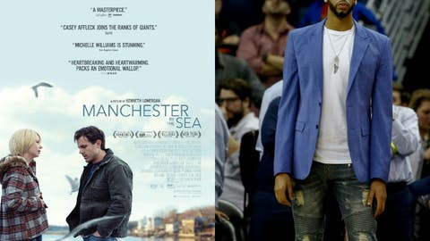 """Manchester by the Sea"" = Anthony Davis's 2017 season"