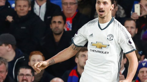 Manchester United — Zlatan Ibrahimovic