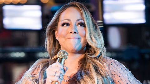 Mariah Carey held a New Year's Eve concert
