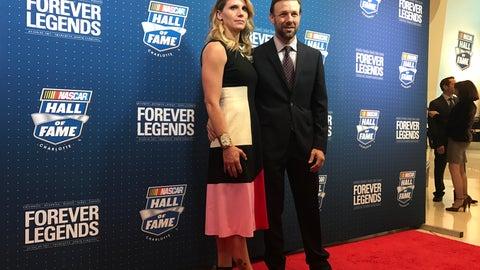 Matt Kenseth and wife, Katie