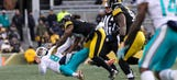 Report: NFL fines Steelers LB Bud Dupree $18K for brutal hit on Matt Moore
