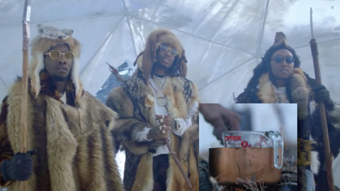 Migos Crate & Barrel commercial