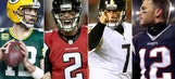 How the NFL's four conference championship game teams were built