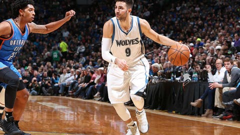 Ricky Rubio is getting people involved