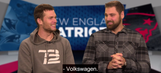 Watch Tom Brady try (and fail) to speak German with Sebastian Vollmer
