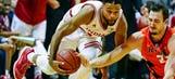 Indiana's Blackmon joins two teammates staying in NBA draft