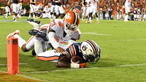 Sept. 9: Auburn at Clemson