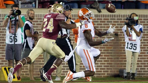 Nov. 11: Florida State at Clemson