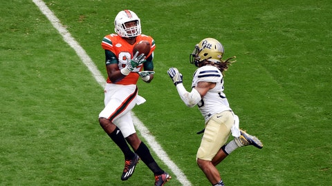 Ahmmon Richards, Miami receiver