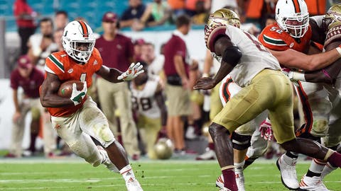 Sept. 16: Clemson at Louisville, Miami at Florida State