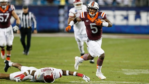 Cam Phillips, Virginia Tech receiver