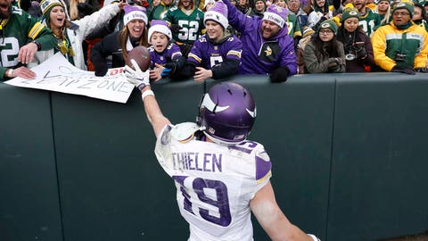 WR Adam Thielen, restricted
