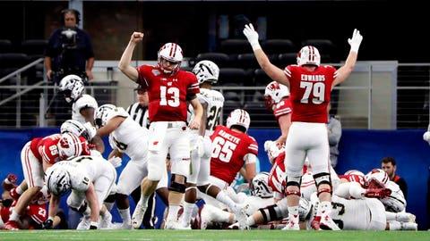 Wisconsin Badgers (OVER 9 ½ wins)