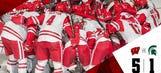 UW hockey beats Michigan State, earns 9th win of season