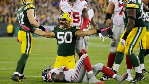 Green Bay Packers: Inside linebacker