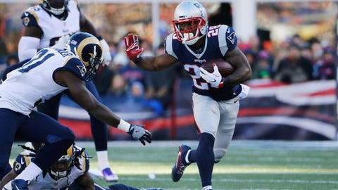James White, New England Patriots