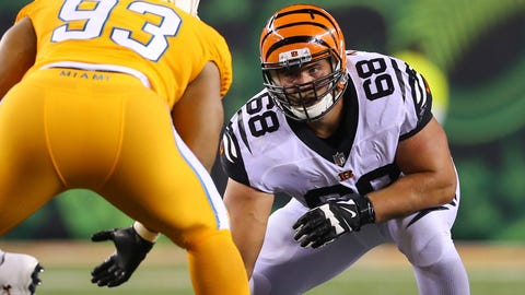 Right guard: Kevin Zeitler, Bengals