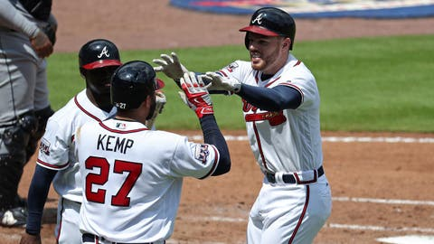 1. Can Freeman duplicate 2016's finish and contend for NL MVP?