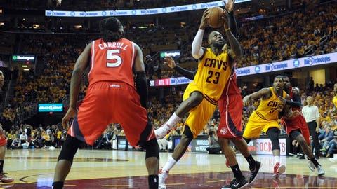 Hawks' Denied by LeBron, Cavs In History-Making Season