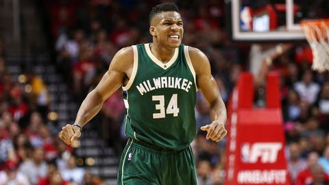 Giannis Antetokounmpo, Milwaukee Bucks