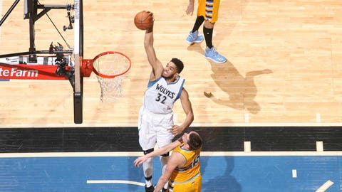 Karl-Anthony Towns has become a monster