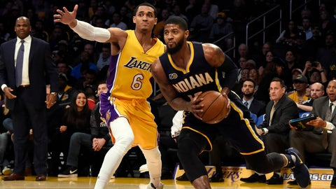 Wait for Paul George to come to you in 2018